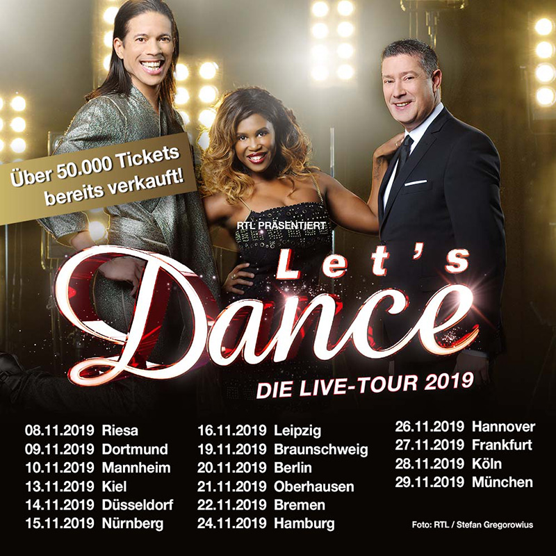 Lets Dace on Tour - Foto Semmelkonzert